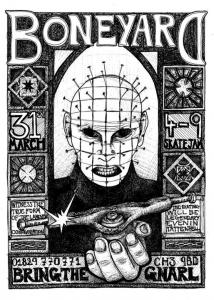boneyard jam poster