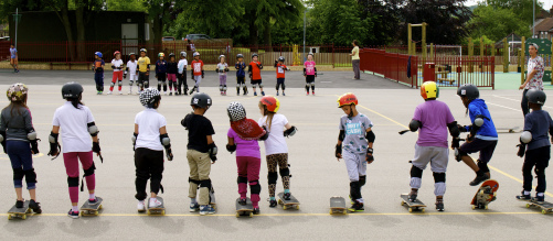 Skate School Class Shot2
