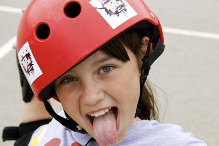 Skate School Happy Kid and TD