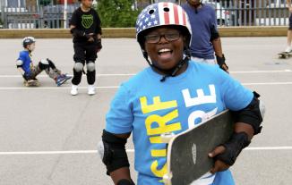 Skate School Happy Kid