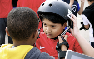 Skate School TD Helmet