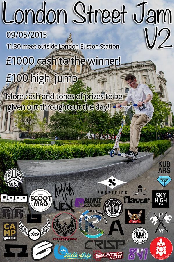 London Street Jam poster
