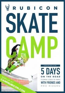 rubicon skate camp poster
